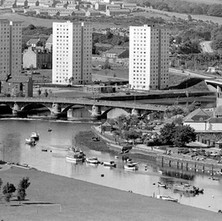 A view of Dumbarton from Dumbarton Rock. - August 26th 1978