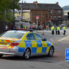 Chalmers Street closed due to an accident. Police are investigating. - 4th May 2012