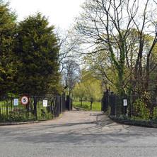 Dalmuir Park entrance on Mountblow Road - 19th April 2012