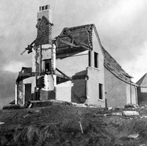 Bombed House in Clydebank  - Clydebank Blitz 1941 - from the collection of Jack Carson