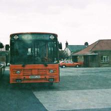 Kelvin Central Bus Garage at Old Kilpatrick.  -  1995