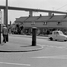 Old Kilpatrick, do you remember the little blue 3-wheeled invalid carriages? July 1978