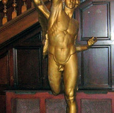 Mercury, the winged messenger, or the 'Angel' as the locals call him. - 4th April 2009 - Town Hall, Clydebank