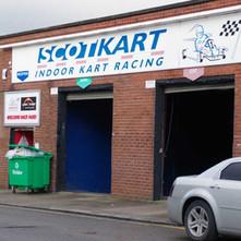 Scotkart, indoor Go Kart RacingTrack in John Knox Street, in the former UCBS factory.  -  9th January 2020