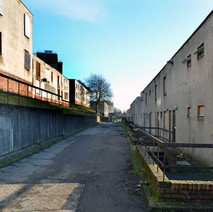 Salisbury Place, in Mountblow is earmarked for demolition.  -  24th January 2013