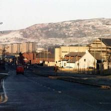 Glasgow Road  -  December 1983