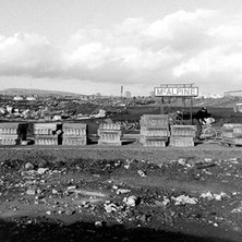 Working on the new Clydebank Bus Station. - Saturday 3rd March 1979