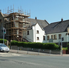 The restoration is coming on. It's going to be an Italian Restaurant. - 26th April 2011