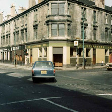 The Clydebank Bar on the corner of Dumbarton Road and Kilbowie Road. - Photo by Tommy Quinn.