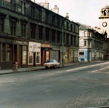 Dumbarton Road looking towards the Town Hall. - Photo by Tommy Quinn.