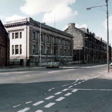 The Clydebank Library on Dumbarton Road. - Photo by Tommy Quinn.
