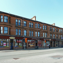 A row of original tenements on Kilbowie Road. - 26th April 2011