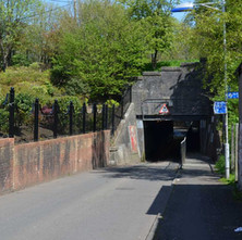 The underpass which goes under the Forth & Clyde Canal at Dalmuir. - 3rd May 2012