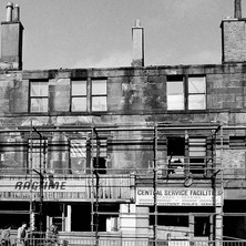 A wider shot of the doomed buildings. - Saturday 3rd March 1979