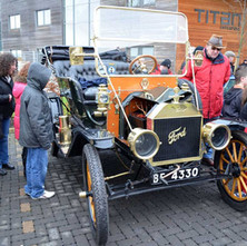 The Scottish Start for the Monte Carlo left from Clydebank College - 29th January 2012