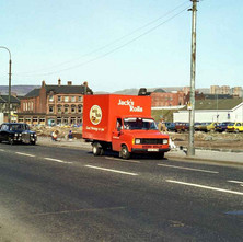 Glasgow Road, the tenements have all gone now. - March 1981