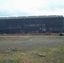 The west shed.  -  2nd April 2002
