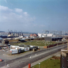 Holm Park and the Yoker Club, Glasgow Road 1975 - Photographed supplied by Terry MacNamee