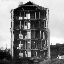 Blitzed Tenement - from the collection of Jack Carson