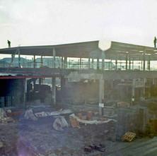The Clyde Shopping Centre under construction. - Clydebank 1978