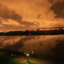 The River Clyde. Photo taken from the Beardmore Hotel at Dalmuir. - Photo by Philip MacKay 2011