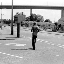 Old Kilpatrick, looking towards the Erskine Bridge. July 1978