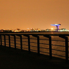 Photo taken from Dalmuir. Photo by Philip MacKay 2011