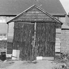 This is Lucky garage 13...lucky it is still standing! - April 1981