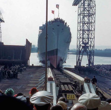 Launch 711 Hampshire, 1961 - from the collection of Jack Carson