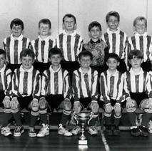 Clydemuir Colts Football Team -  1996  -  phot supplied by Davie 'Banjo' Parker
