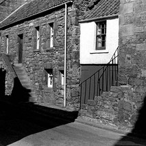 Another shot of an old street in St Andrews. - 16th July 1978