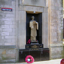 The War Memorial in Hall street. - 7th February 2009 - Hall Street, Clydebank