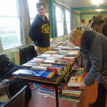 A Firecloud Table-Top Sale in OHR Church Hall. Everybody likes a bargain!  -  28th February 2015