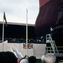 QE2 Launch at John Brown's Shipyard 1967 - from the collection of Jack Carson