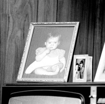 Photos of Jennifer on the TV ( plus two of her cousins). - May 1980