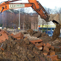 New houses and flats are going to be built on the site of the old tenements in Dalmuir. - 21st January 2011