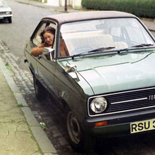 This is our second car since we got married. The first one was an Austin 1100, which conked out every time it rained! I have still have not learned to drive at this point. - Dunedin Terrace 13th August 1977