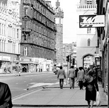 Looking down Argyle Street towards the Trongate. - Friday 29th June 1979