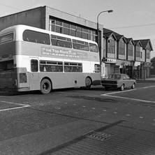 You don't see these buses now... the Greater Glasgow Passenger Transport Executive (Corporation Buses as we knew them) - Saturday 3rd March 1979 Glasgow Road