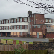 St Eunan's Primary School, now closed down, awaiting demolition. - 24th February 2011