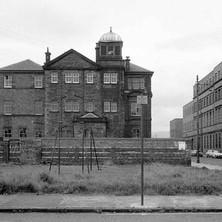 Elgin Street School viewed from Napier Street. - Photo by William Duncan