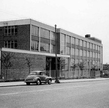 Clydebank College, on Kilbowie Road. - Photo by William Duncan
