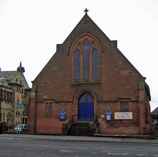 Morison Memorial Church was opened in 1897. - 4th April 2009 - Dumbarton Road, Clydebank