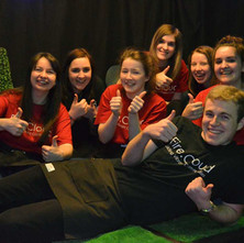 Some of the young volunteers who help FireCloud be such a success. - 11th April 2014