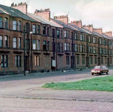 Clyde Street shortly before getting demolished. - Photo by Tommy Quinn.