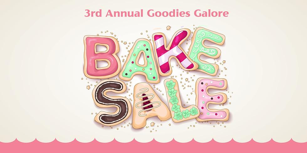 Goodies Galore Bake Sale