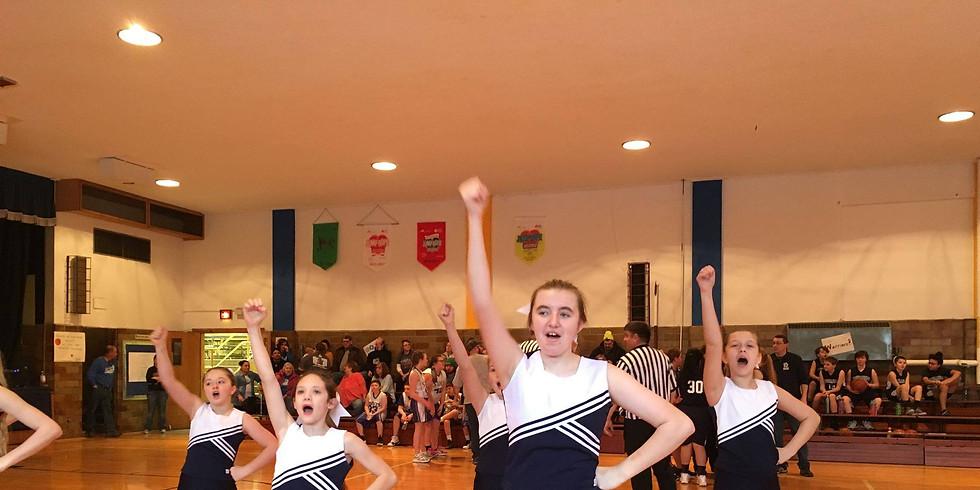 Trinity Cheerleaders Performance