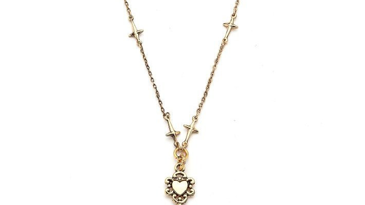 MonReve Key Necklace with North Stars