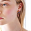 Thumbnail: Royal Blue Bell And Common Heath Stud Earring
