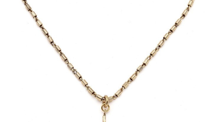 MonReve Coin Necklace with a Spring